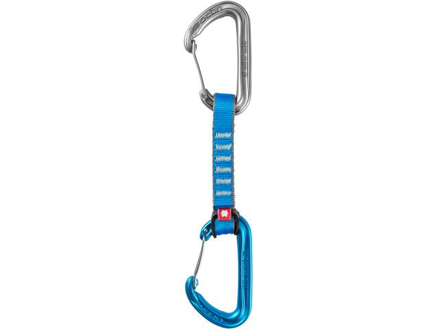 Ocun Hawk QD Wire PA Quickdraw 16mm 10cm 5-Pack, blue